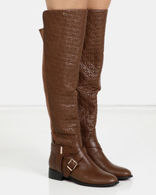 PLUM OTK Boots Brown