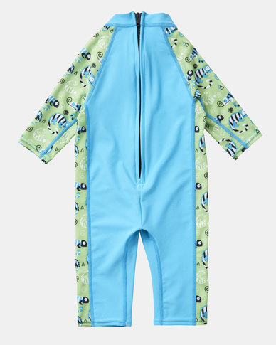 18d7fdaac8 Splash About Toddler UV SunSuit Green Gecko | Zando