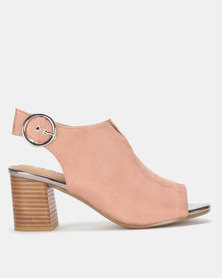 SOA Bailey Block Heels Pink
