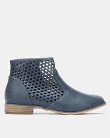 SOA Faith Boots Blue