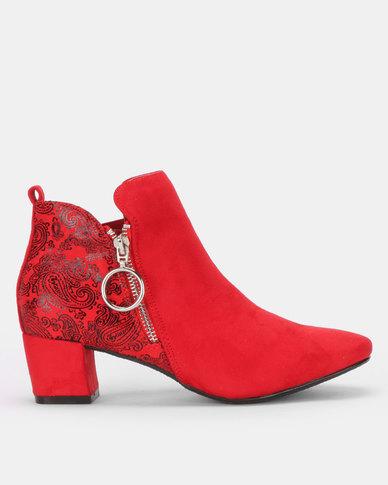 SOA Hesta Boots Red