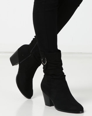 SOA Halty Boots Black