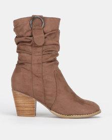 SOA Halty Boots Natural