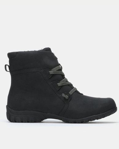 SOA Ebony Boots Black