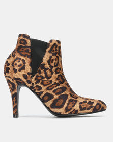 SOA Extreme Boots Leopard