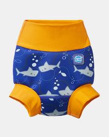 Splash About Happy Nappy Shark Orange