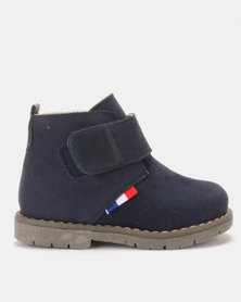 Rock & Co Joven Navy Ankle Boot