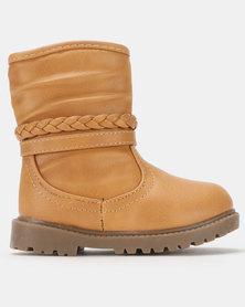 Rock & Co Bibi High Boots Camel