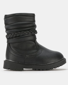 Rock & Co Bibi High Boots Black
