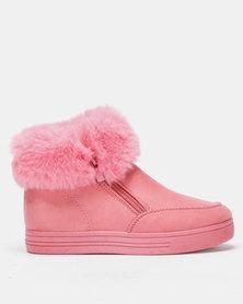 Tom_Tom Urban Girls Casual Slip On Pink