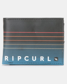 Rip Curl Stripe PU All Day Wallet Red