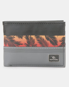 Rip Curl Max Focus PU Slim Wallet Red