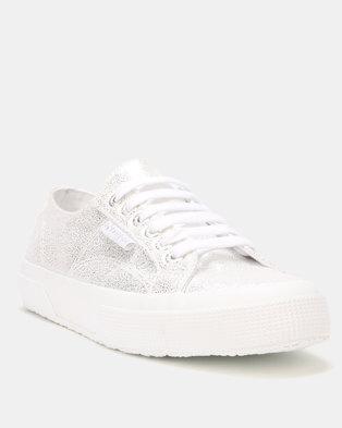 f1413277b0016 Superga Soft Glitter White Grey Silver