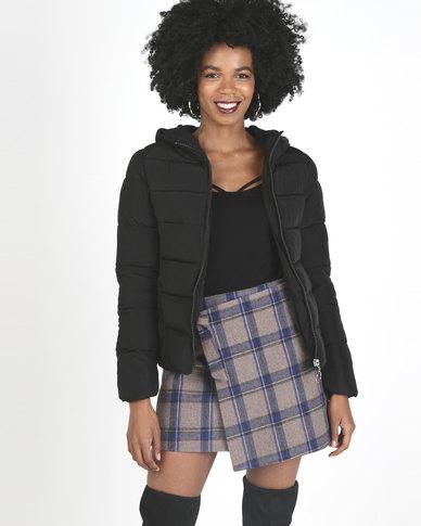 Utopia Puffer Jacket Black