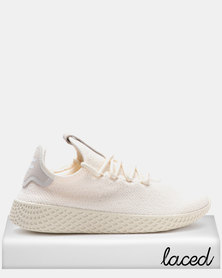 adidas Originals PW TENNIS HU W ECRU TINT Sneakers S18/cloud white/core black