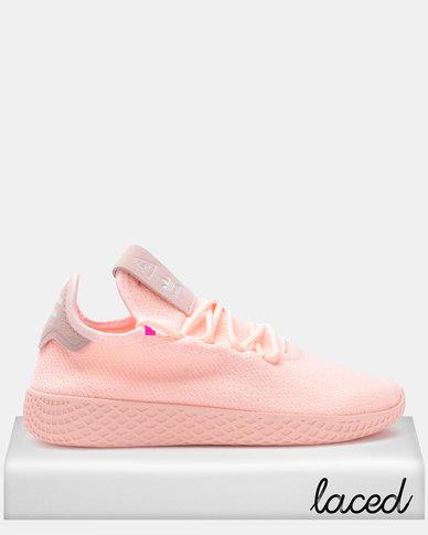 69c433fc5 adidas Originals PW Tennis HU W Sneakers Clear Orange Cloud White Core Black
