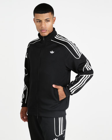 new products get online official adidas Originals Flamestrike Track Top Black