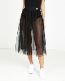 adidas Originals 3 Stripes Skirt Black