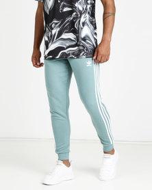 adidas Originals Mens Adicolour 3 Stripe Pants Blue