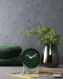 Present Time Alarm Clock Lush Green