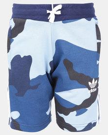 adidas Originals Camo Shorts Blue