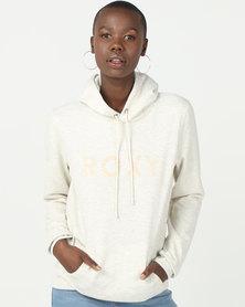 Roxy Eternally Yours Crew A Hoodie Sweater Metro Heather