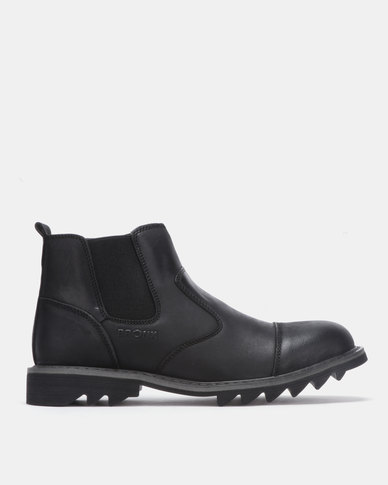Bronx Men Glanworth Casual Boots Black