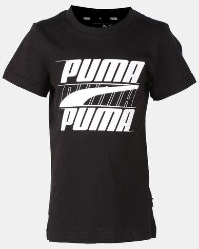 Puma Sportstyle Core Rebel Bold Tee Black