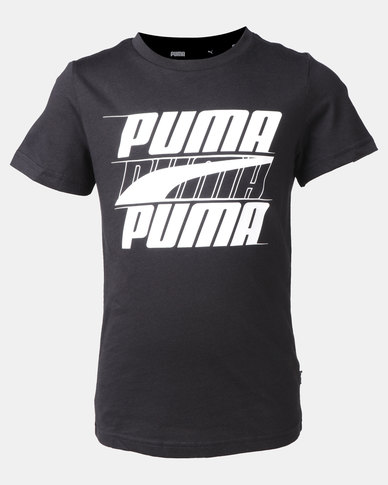Puma Rebel Bold Tee Black