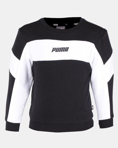 Puma Sportstyle Core Rebel Crew Sweater Black