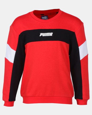 Puma High Risk Red Rebel Crew Sweater