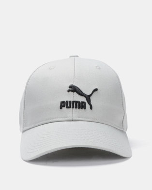 b9746a0fb78 Puma Sportstyle Prime Archive Logo BB Cap Grey