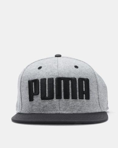 Puma Sportstyle Core Flatbrim Cap Grey