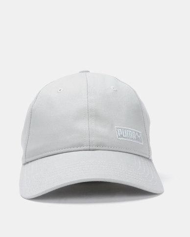 Puma Sportstyle Core Style Fabric Cap Grey