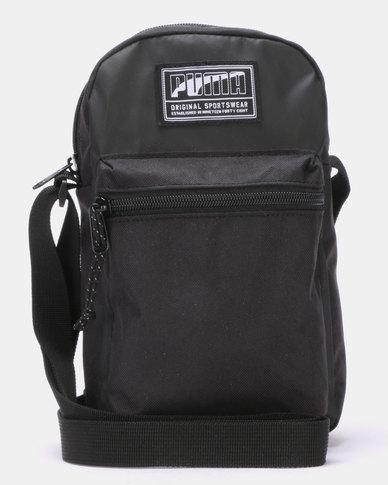 Puma Sportstyle Core Academy Portable Crossbody Black