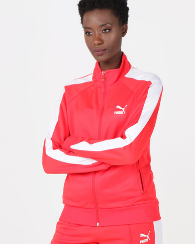 Puma Sportstyle Prime Classics T7 Track Jacket Red