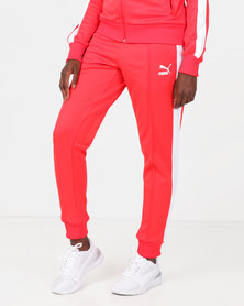 Puma Sportstyle Prime ClassicsT7 Track Pants Red
