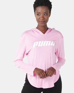8ad16ad20e95 Puma Sportstyle Core Modern Sports Light Cover Up Pink