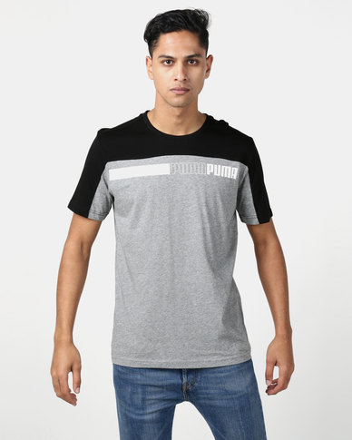 Puma Sportstyle Core Modern Sports Advanced Tee Grey