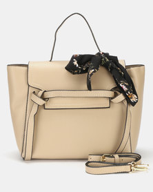 Utopia Double Strap Tote Cream