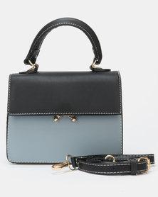 Utopia Crossbody Bag Blue Black