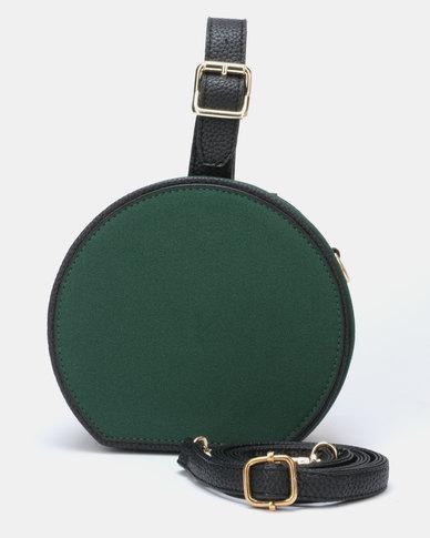 Utopia Round Crossbody Bag Green