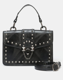 Utopia Western Satchel Bag Black