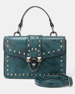 Utopia Western Satchel Bag Teal