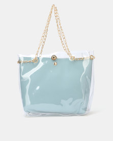 Utopia Vinyl Bag Blue
