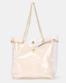 Utopia Vinyl Bag White