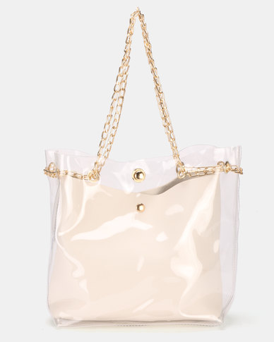 Utopia Vinyl Bag White