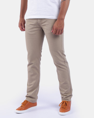 511™ Slim Fit Pants Tan