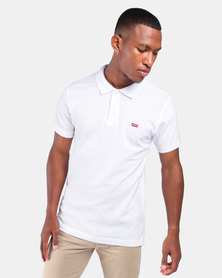 Housemark Polo Shirt White