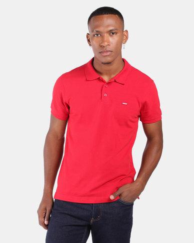Housemark Polo Shirt Red